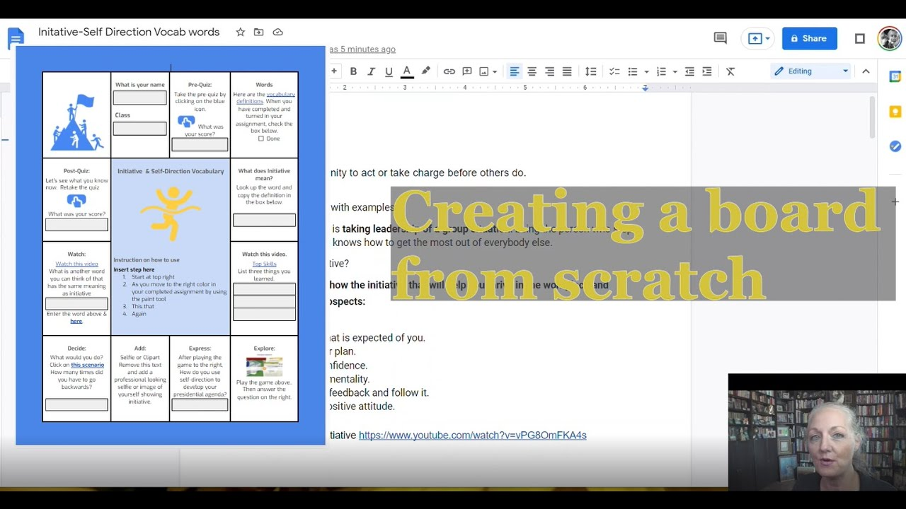 Download Creating Google Doc HyperDoc Game Board From Scratch