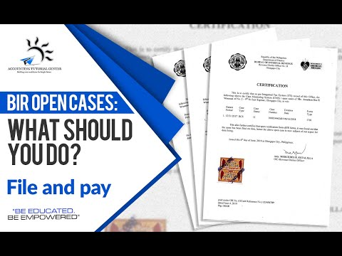 BIR Open Cases: What Should You Do? :)