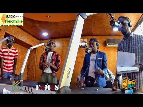 FAMAS perform  I Yêrê Kalon dans DjassaRap sur Radio Treichville 93.6 #Abidjan #225