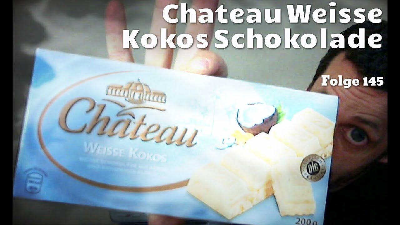 chateau weisse kokos schokolade von aldi sweetschecker folge 145 ungew hnliche s igkeiten. Black Bedroom Furniture Sets. Home Design Ideas