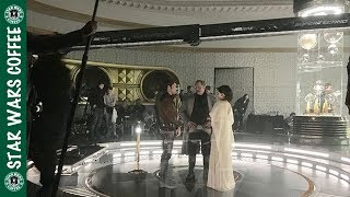 NEW PHOTO AND VIDEO LEAKS FROM THE HAN SOLO MOVIE!