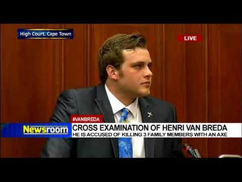 Cross-examination of Henri van Breda 2