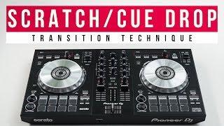 How to Scratch/Cue Drop like a PRO DJ!