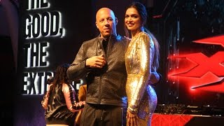 xXx  The Return of Xander Cage Movie Promotion With Vin Diesel, Deepika Padukone
