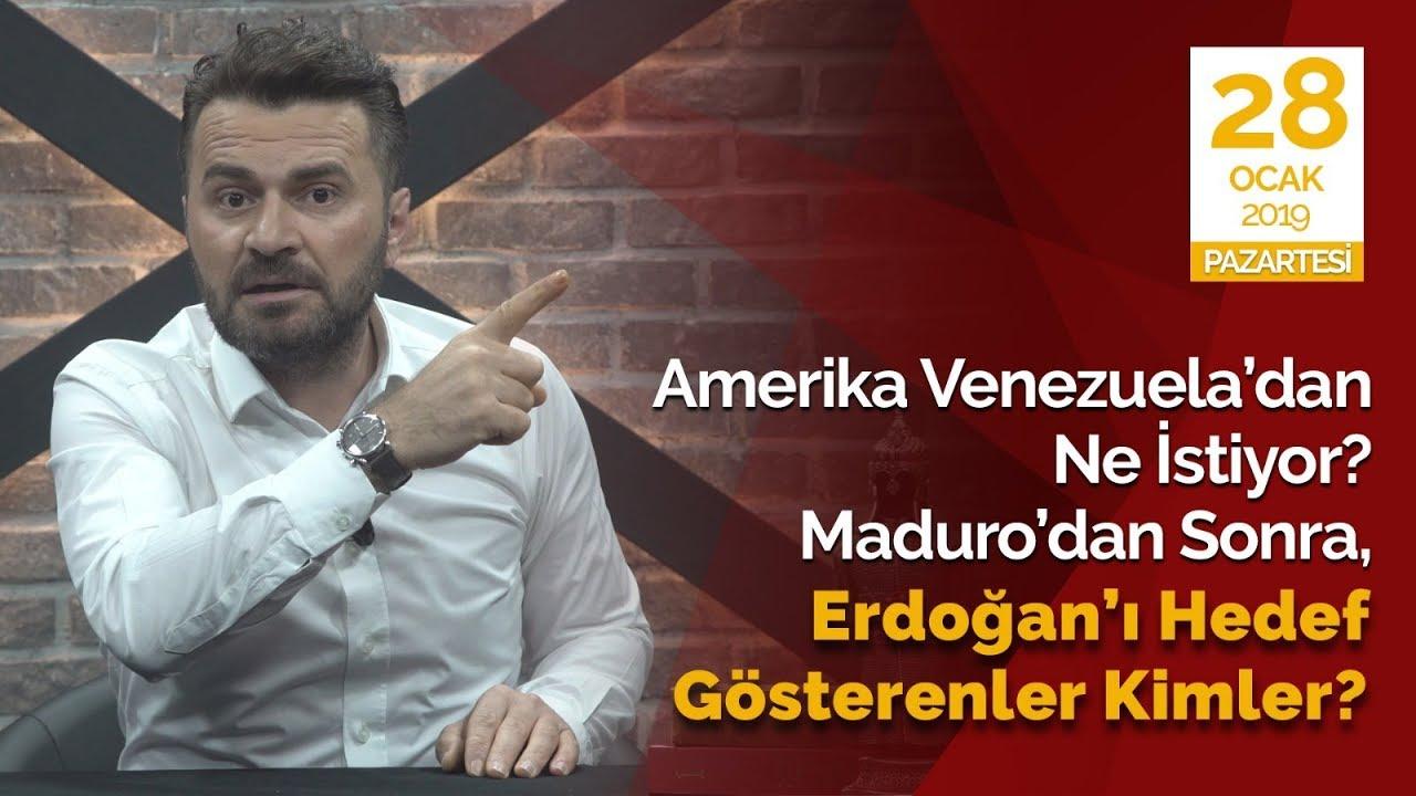 Amerika Venezuela'dan ne istiyor? Maduro'dan sonra Erdoğan'ı hedef gösteren kimler?