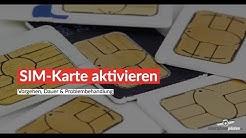 Neue SIM-Karte aktivieren - wie lange dauert das?