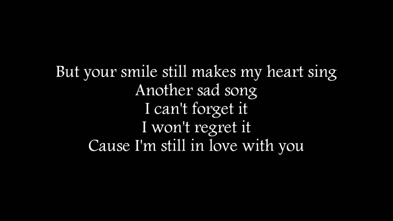 still in love with you lyrics