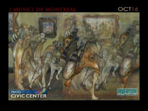 I Musici De Montreal Coming To The Mayo CIvic Center In Rochester, MN - Oct. 16