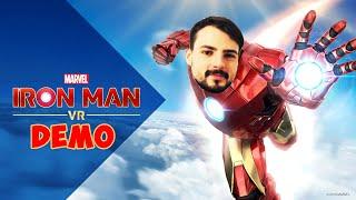 I AM IRON MAN - IRON MAN VR FULL DEMO! INCREDIBLE EXPERIENCE!