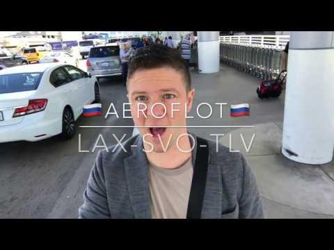 Aeroflot Business Class Review LAX SVO TLV TRIP REPORT