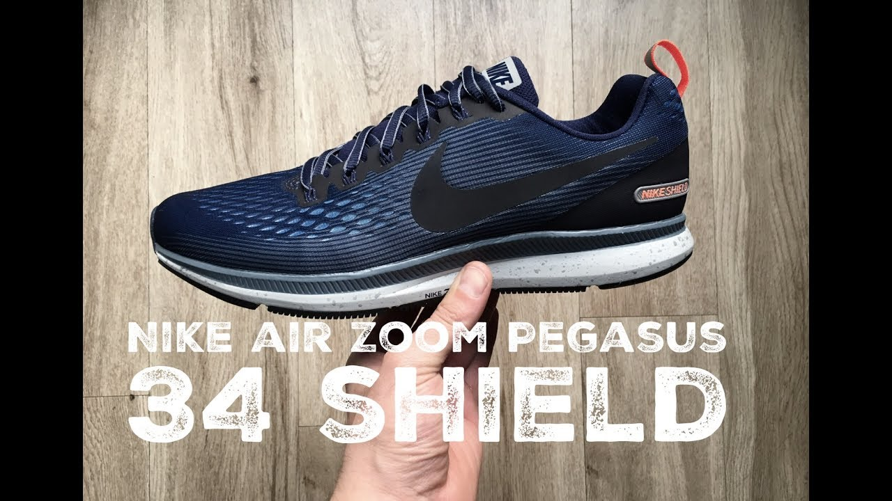 6a585f19f3210 Nike Air Zoom Pegasus 34 Shield ´obsidian blueˋ