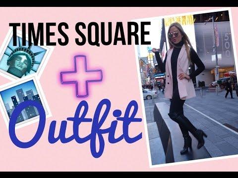 De visita en Times Square/Nueva York + OUTFIT!!  - #mafconsejos