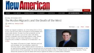 The Muslim Migrants and the Death of the West