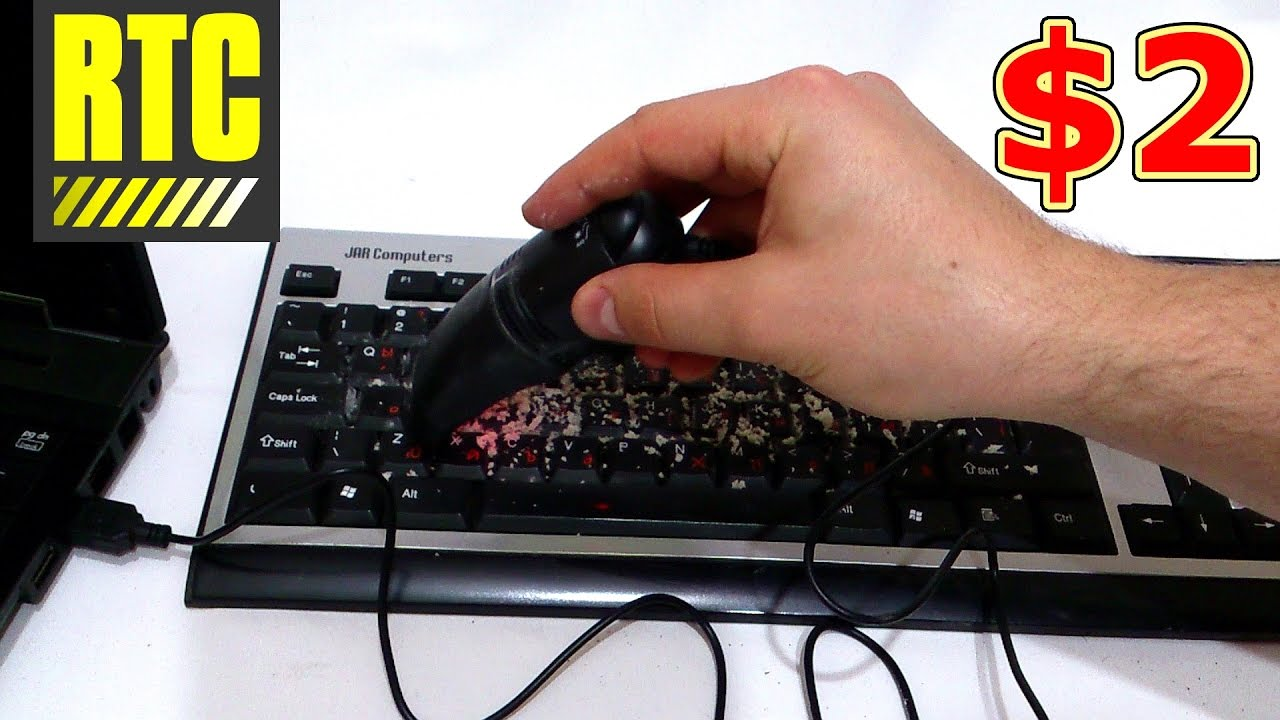 Mini VACUUM CLEANER for Laptop Computer Keyboard Powered by USB