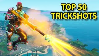 TOP 50 FORTNITE TRICKSHOTS OF ALL TIME! #2