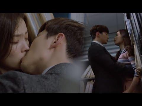 Memory 이준호&윤소희, 청춘 남녀의 정열적인 회사 내 키스! 160430 EP.14 thumbnail