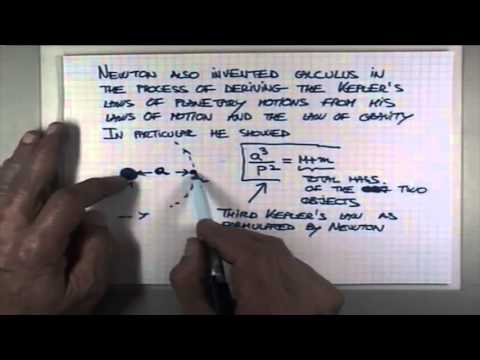 ASTR 1P01 CLIP 74: Newtons Formulation of Keplers Third Law