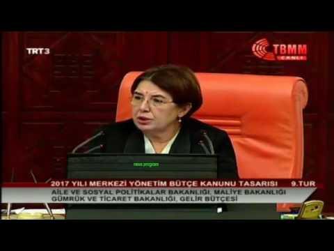 Hdp'li Hüda Kaya & Filiz Kerestecioğlu 14 Aralık 2016 TBMM Bütçe Konuşması