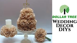 Dollar Tree Wedding DIYs for $5