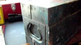 Ww2 Wooden Tool Box