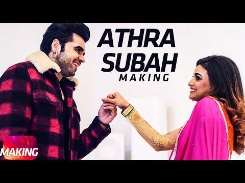 Making | Athra Subah | Ninja Feat. Himanshi Khurana | Latest Punjabi Song 2017 | Speed Records