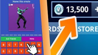 EARN FREE V BUCKS FROM THIS FORTNITE QUIZ (Season 9)
