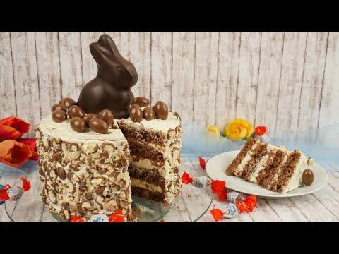 Kinder Schoko Bon Torte Rezept / Ostertorte / Schokoladentorte