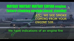 [ATC] Aer Lingus MAYDAY Fire indication & engine shutdown on takeoff from Dublin
