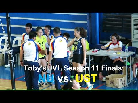 Toby's Junior Volleyball League Season 11 Finals