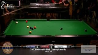pairs final cnz national 8 ball 2016