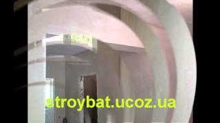 Штукатурка стен в Киеве машинным способом от сети 220 вольт(, 2015-02-05T09:24:56.000Z)
