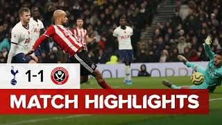 Tottenham Hotspur 1-1 Sheffield United | Premier League highlights | VAR Controversy