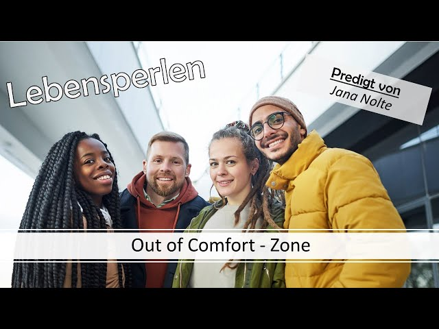 Lebensperlen: Out of Comfort-Zone; 12.07.2020 #Vineyard #Gottesdienst #Predigt