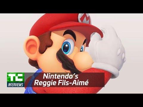 Nintendo's Reggie Fils-Aimé on the evolution of Super Mario Odyssey
