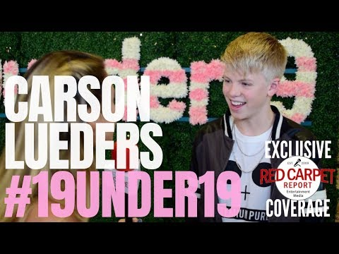 Carson Lueders interviewed at TigerBeat & Instagram's 3rd Annual #19Under19 Celebration