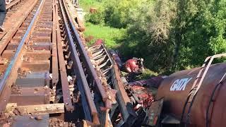Tren de marfa deraiat la Carcea! Mecanicul ar fi intrat pe o linie aflata in reparatii