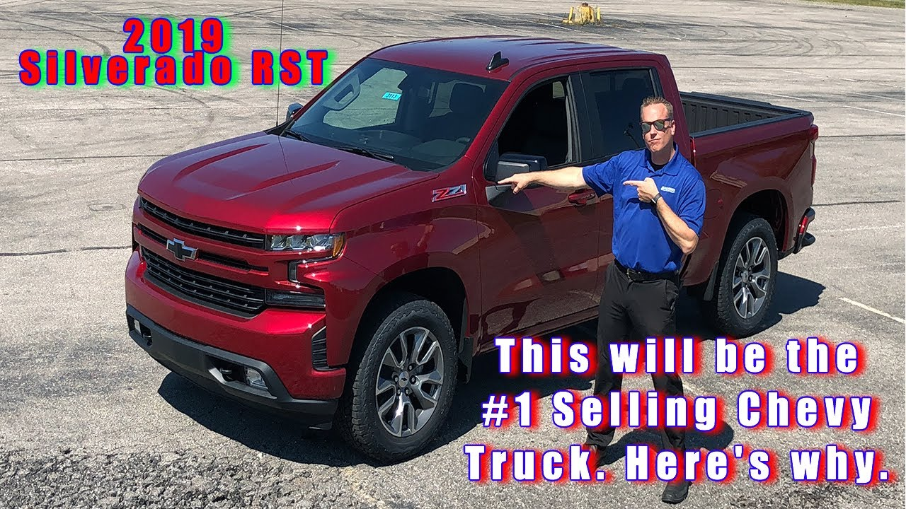 2019 Silverado Rst Overview And Options List Youtube
