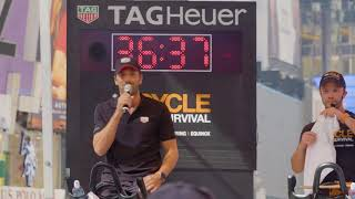 TAG Heuer | Henrik Lundqvist at Cycle for Survival