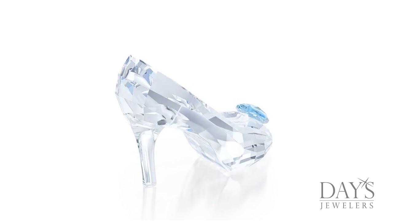 23ddf6229efe8 Swarovski Crystal Cinderella Glass Slipper - YouTube