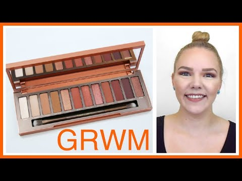Chit Chat GRWM: Urban Decay Naked Heat Palette + Mini Review