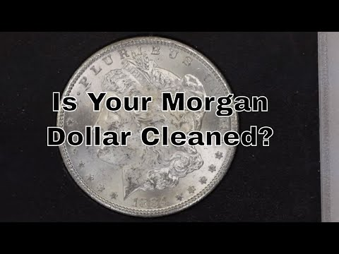 Is Your Morgan Dollar Cleaned? How To Identify Cleaned Morgan Dollars