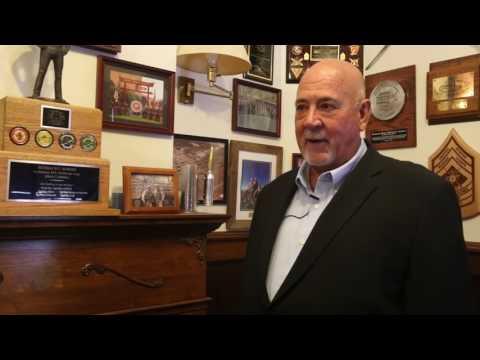 Jim Campbell's Bracelet Ceremony interview