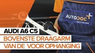 Montage Draagarm achter en vóór AUDI A6 Avant (4B5, C5): gratis video