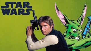 that time han solo teamed up with a giant green rabbit