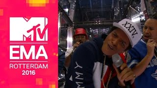 Bruno Mars €� 24k Magic Live From The 2016 Mtv Emas