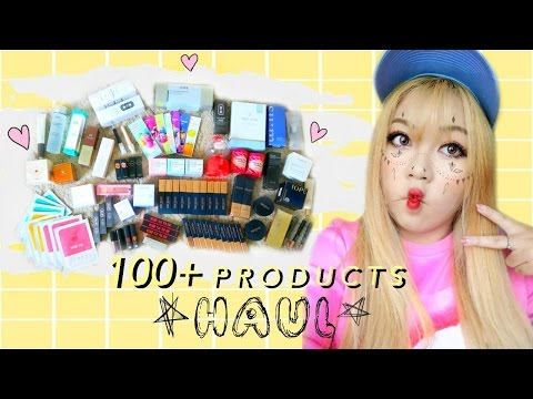 (100+ Products) MASSIVE KOREAN SKINCARE MAKEUP HAUL! [WishYourBeauty ep.4]