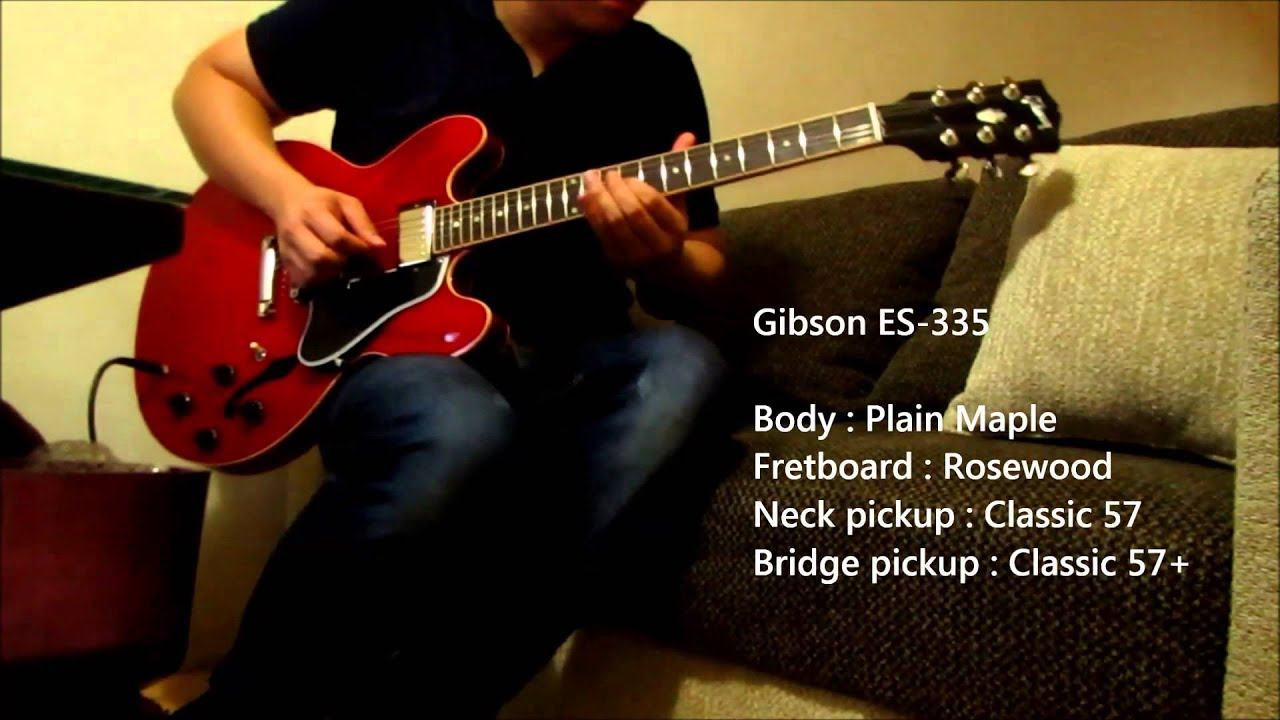 ibanez jsm 100 and gibson es 335 youtube
