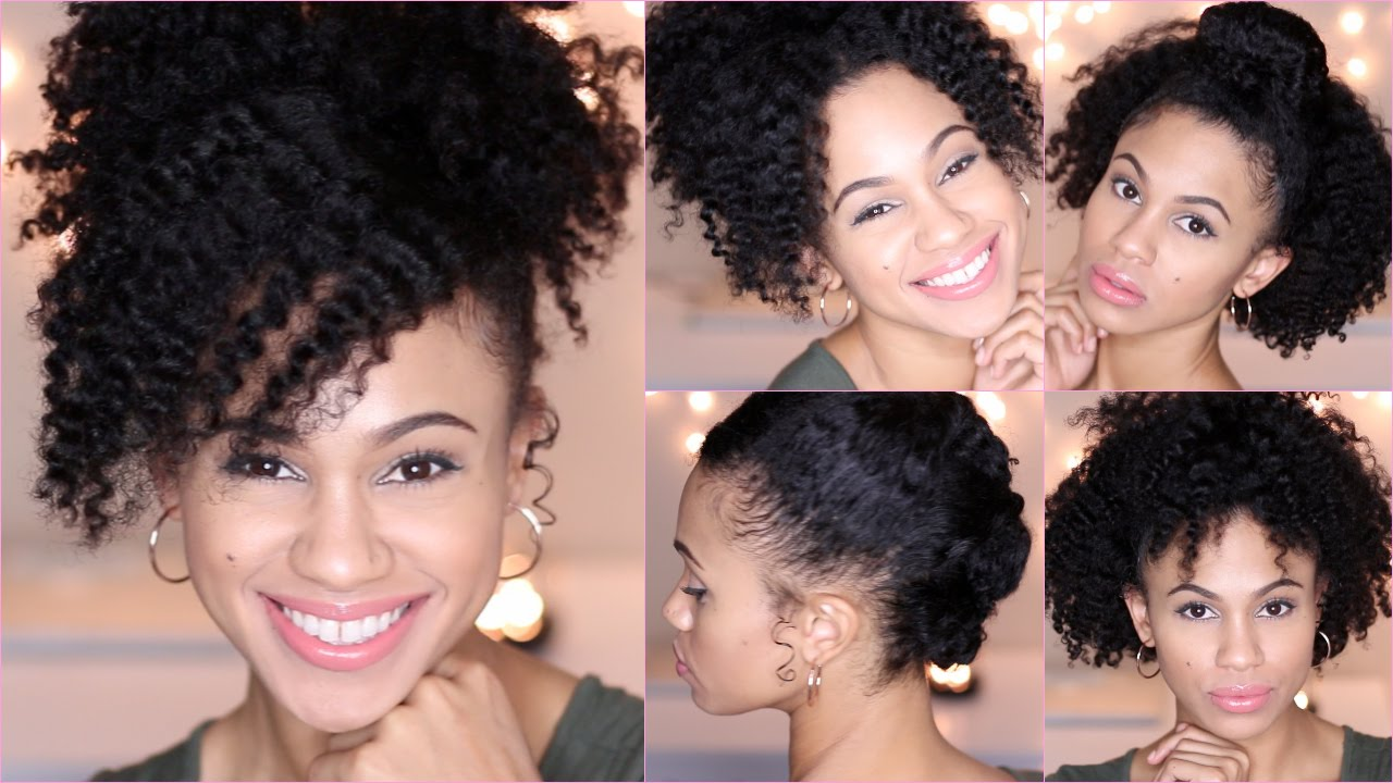 easy styles for short natural hair 5 and easy hairstyles for hair 4728 | maxresdefault
