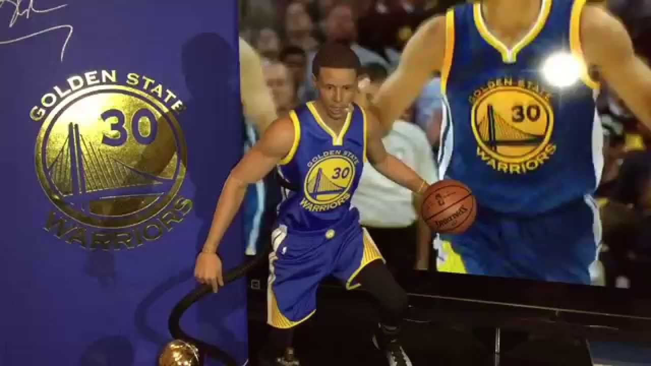 NBA x Enterbay Stephen Curry 1//6 Scale Version 2.0