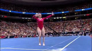 Chellsie Memmel - Floor Exercise - 2008 Olympic Trials - Day 1